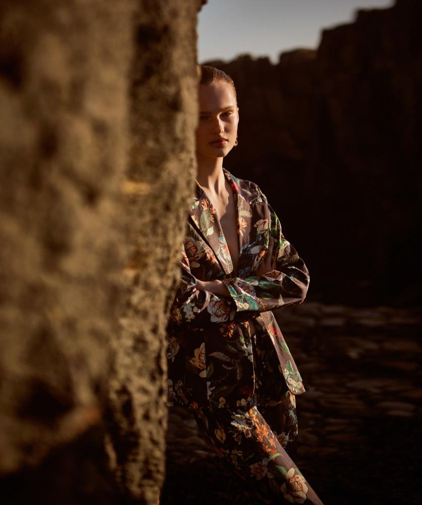 Harper Bazaar Argentina showing our girl Gabija.