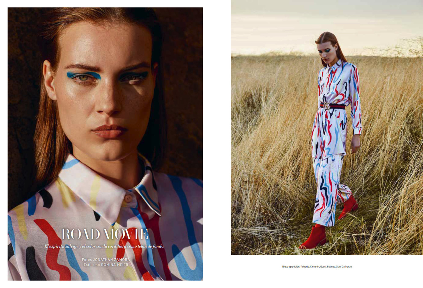 L'Officiel Argentina Featuring Sienna in