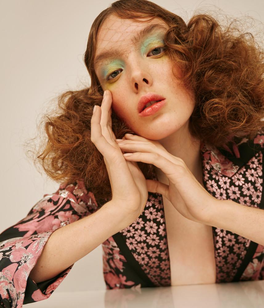 Harper's Bazaar Beauty Editorial with Chloe Kramer