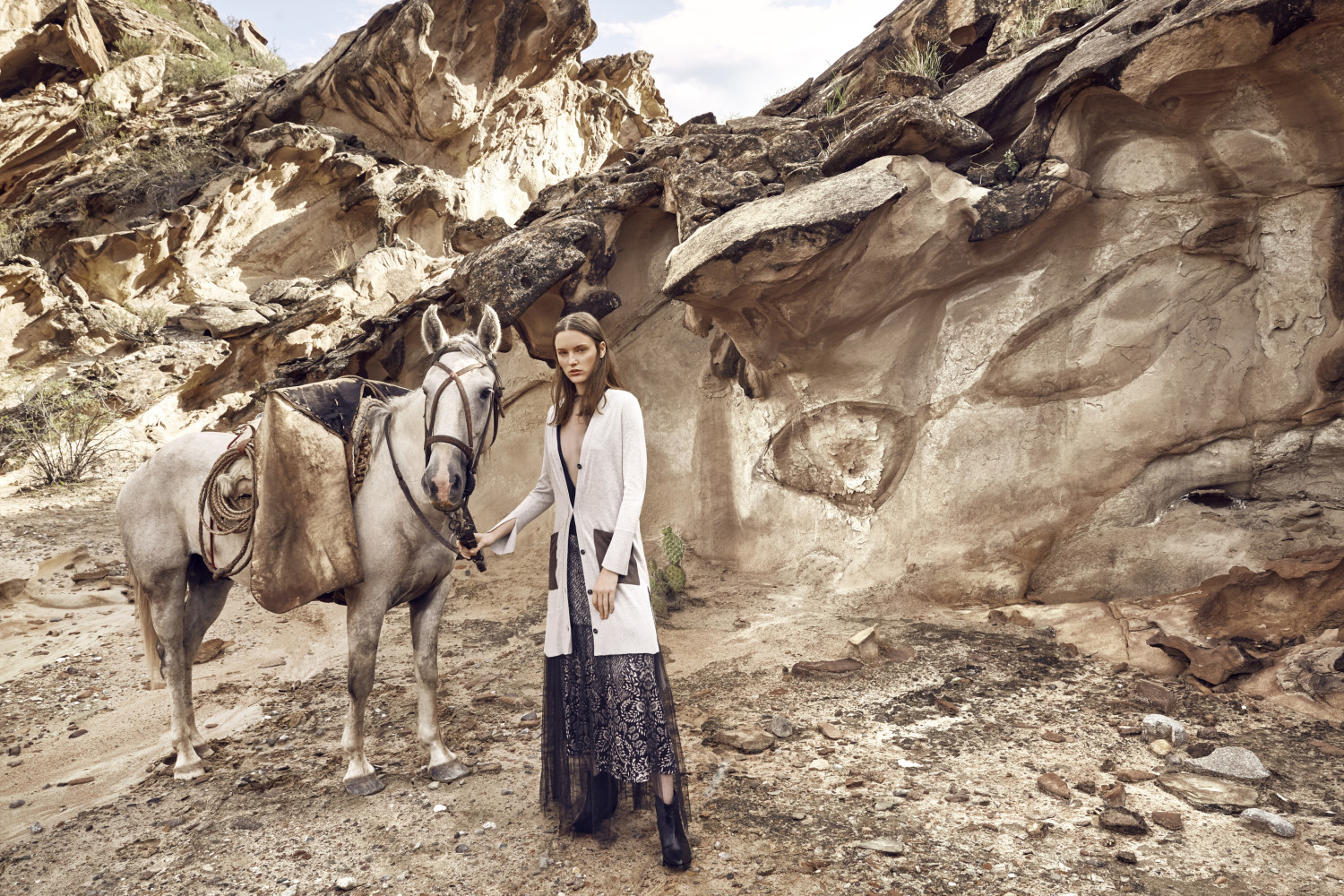 Reka in Valle de Luna for Marie Claire Argentina