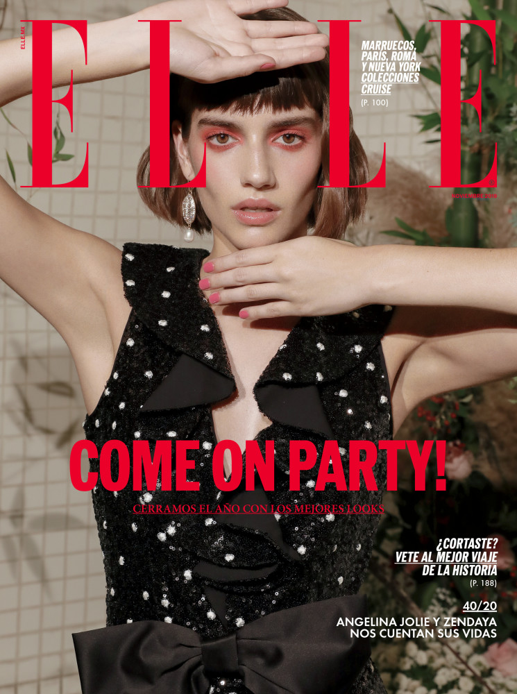 Come On Party ! - ELLE Mexico - Cover Girl