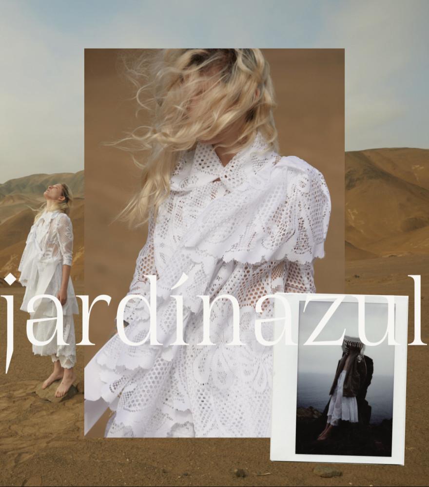 LOVE MAJO - JARDIN AZUL